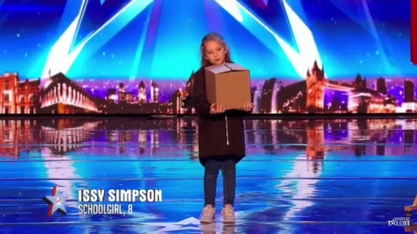 8-year old girl auditionee has captivated Britain's Got Talent 2017!