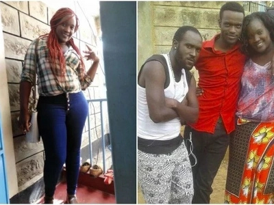 Popular actress Awiti allegedly 'robs' husband leaving him and daughter out in the cold