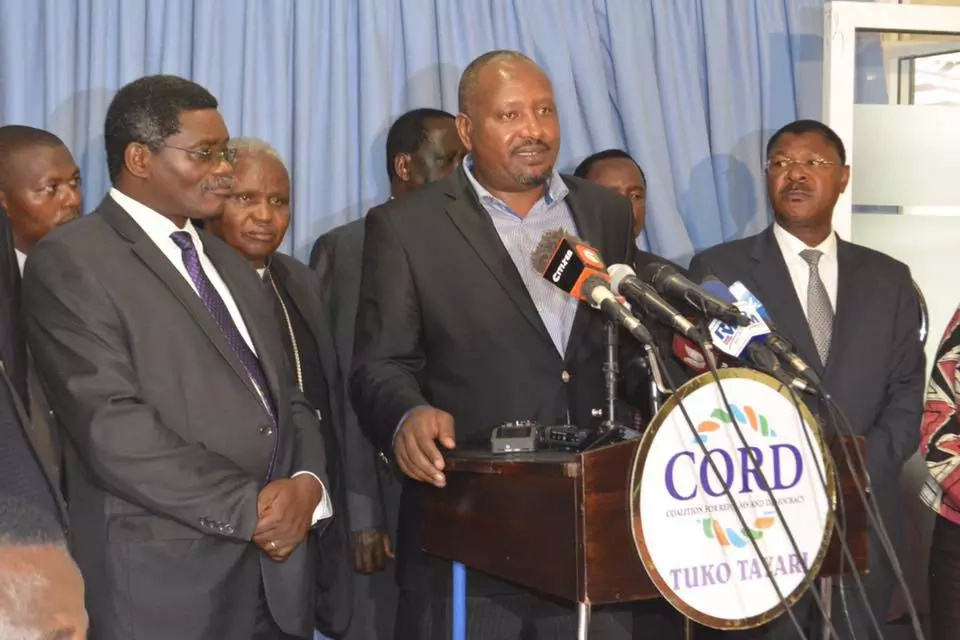 Moi 'dismisses' govt. ban on CORD protests