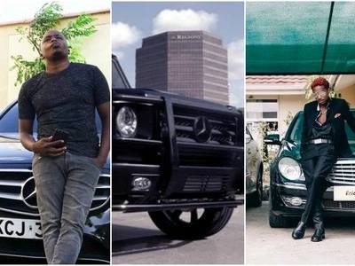 From Bahati to Larry Madowo. 6 Kenyan celebrities who prove they can manage expensive Mercedes Benz (PHOTOS)