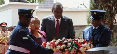 President Uhuru Preaches Unity In Kenya On His Father's 37th Commemoration