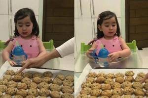 Matalinong bata talaga! Adorable Scarlet Snow Belo shows off her impressive counting skills