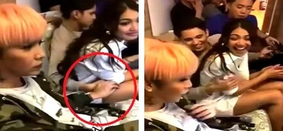 Hindi nahiya sa girlfriend?! Vice Ganda pulls off Hokage moves on unsuspecting James Reid in the presence of Nadine Lustre!