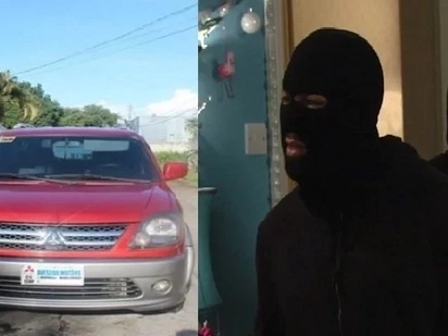 Shocking Pinoy thieves steal family's parked SUV in Bacolod City just before Christmas day