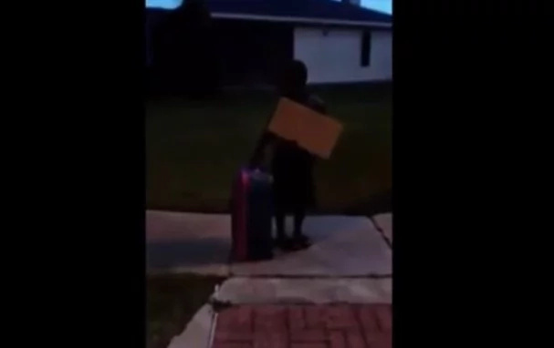 Mother Kicks Out 8-Year Old For Supporting Trump