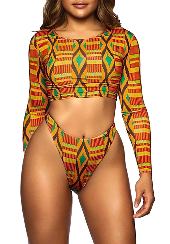 african pring bathing suit