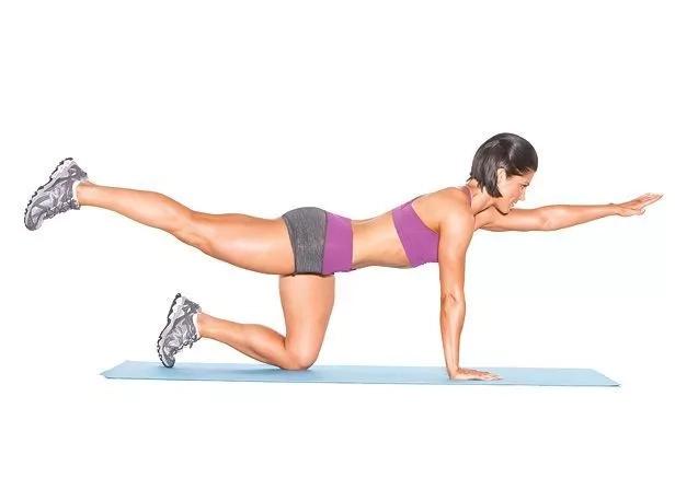 Opposite Arm & Leg Lift