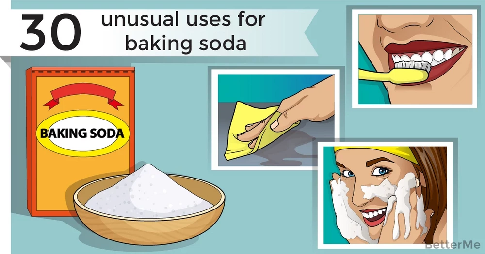 30 unusual uses for baking soda