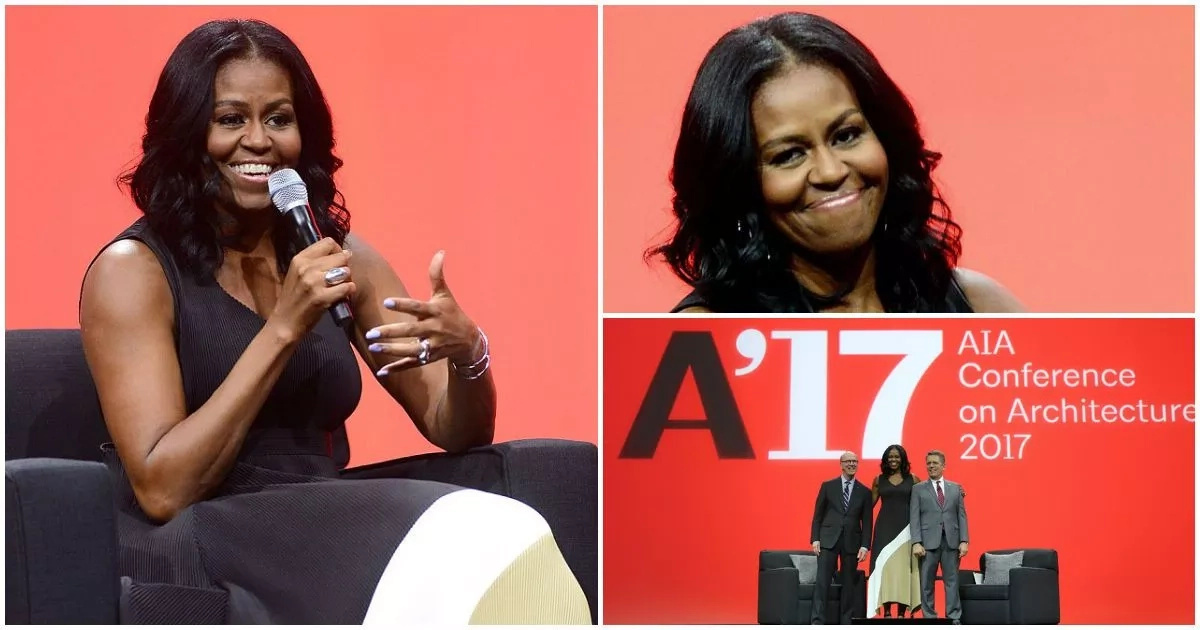 Meet Michelle Obama who looks relaxed in first public appearance after 3-month holiday (photos)