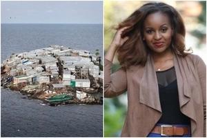 Voluptuous Kenyan TV personality causes war between Uganda and Kenya