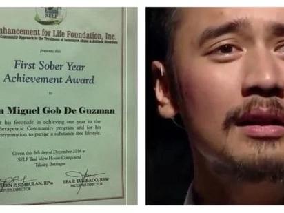 Nakakabilib! JM de Guzman now on his second year of sobriety
