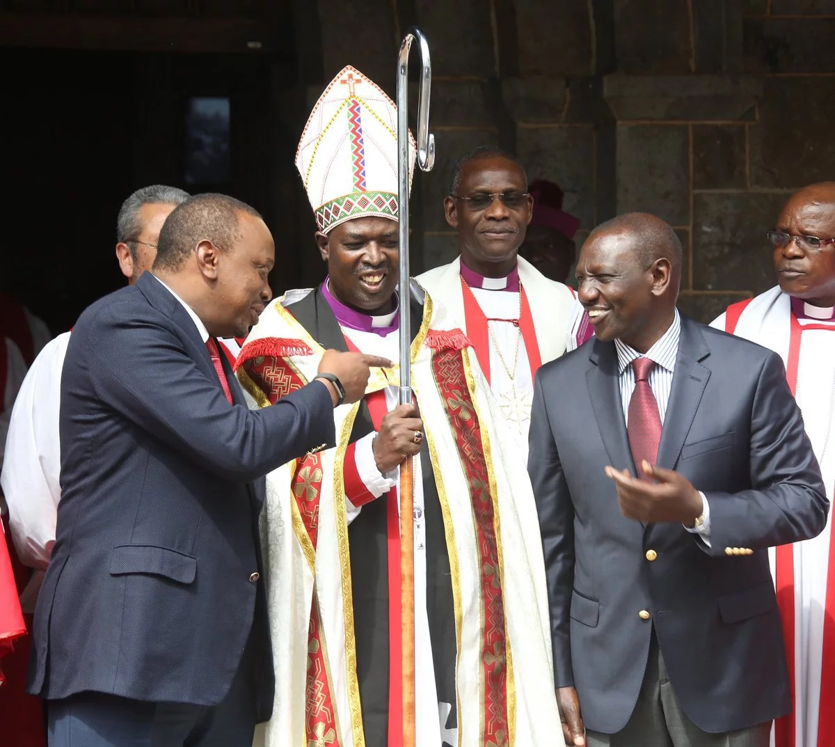 Uhuru Kenyatta holds talks with Archbishop of Canterbury