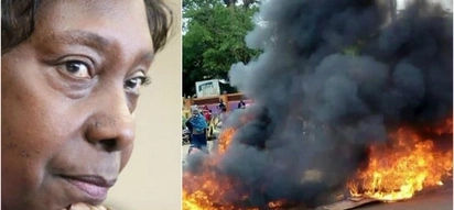 The fate of the fire truck driver who nearly killed Charity Ngilu