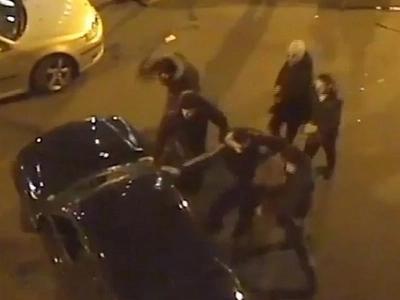 CCTV Captures Brutal Gang Violence On London Streets