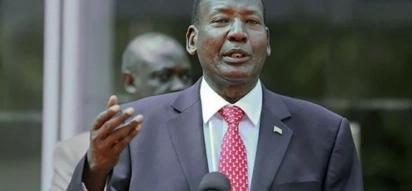 Waziri Nkaisserry 'aisaliti' serikali ya Jubilee?