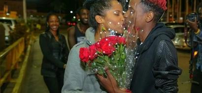 VIDEO: Here's How Eric Omondi Surprised His Beautiful Girlfriend