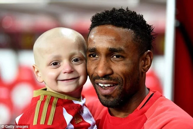 """I saw little Bradley Lowery's face appear in the sky during his funeral,"" – mourner claims"