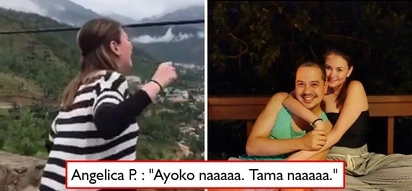 Acting or totoo? Angelica Panganiban recreates 'That Thing Called Tadhana' scene in the most epic manner - 'Ayoko na! Tama na!'