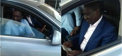 After a week of speculation, William Ruto shows up and he looks fine (photos)