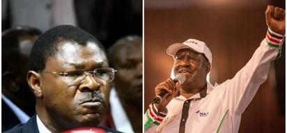 It's over between me and Raila - Moses Wetangula