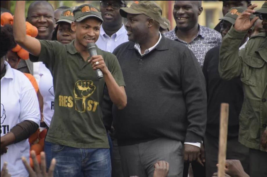 Babu Owino threatens to dump raw sewage dumped at Jacaranda grounds at Mike Sonko's office