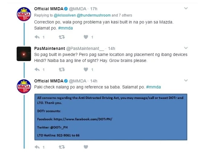 Look How Funny MMDAs Response To A Tweet Inquiry Regarding ADDA. Are They Really Prepared For This?