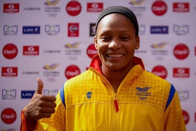 Yuri Alvear será la abanderada de Colombia en los Olímpicos