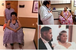 My life is miserable! 340kg bedridden woman sheds weight and learns to walk after her hubby dies (photos, video)