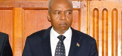 Judge Quits CS Michael Kamau's Case Due To 'Personal Reasons'