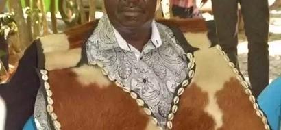 Raila apokea 'nguvu' mpya kutoka kwa maombi ya kitamaduni (picha)