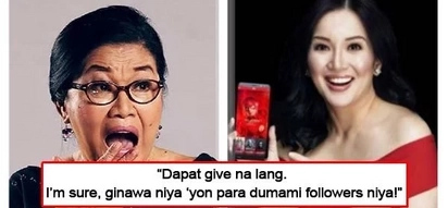 Ibigay nalang, Wag na magpa-contest! Lolit Solis thinks that Kris Aquino's 'gift-giving' to her social media followers is insincere