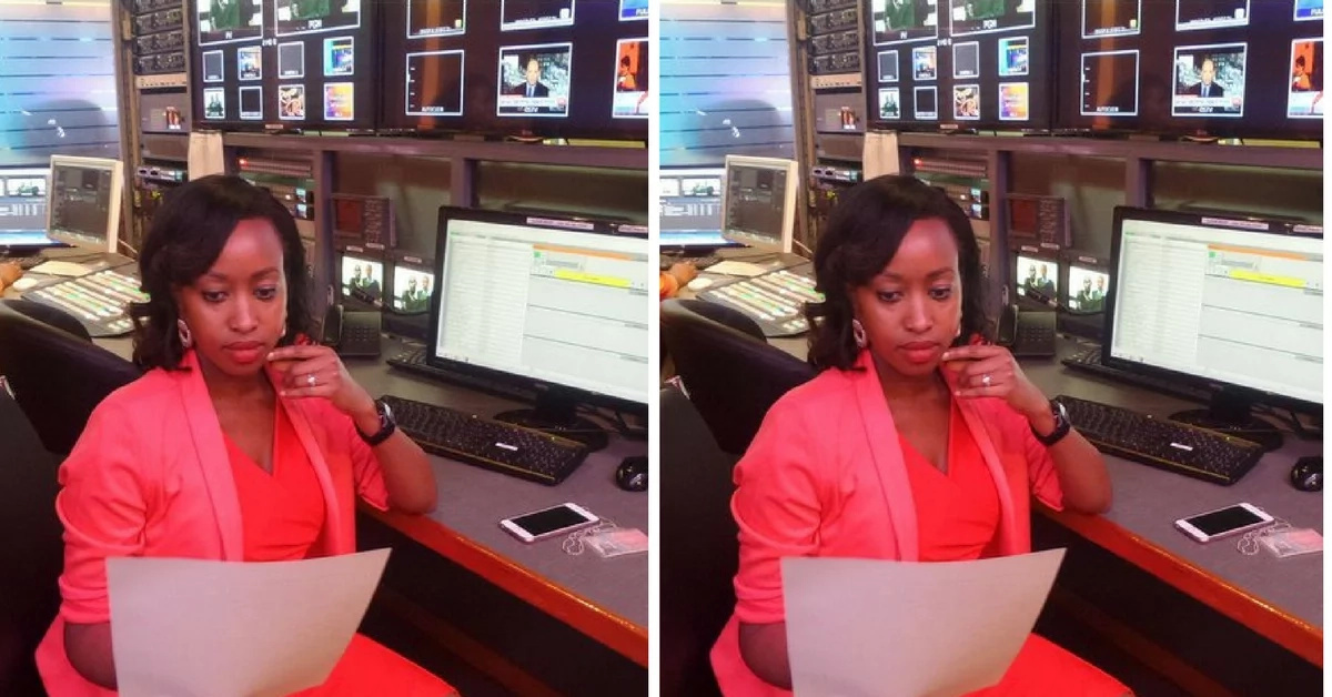 Citizen TV's Janet Mbugua trolled online for rocking this hair