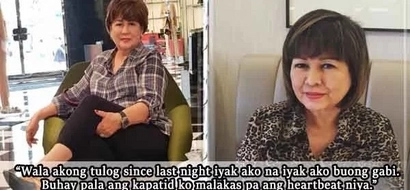 Buhay pa pala! Annabelle Rama apologizes for wrong info about brother's condition