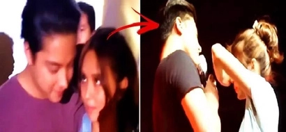 Daniel Padilla & Kathryn Bernardo's 'tampuhan' moments caught on video! Watch it here!