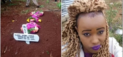 Nairobi's 'most beautiful' gangster buried as sad details on her background emerge