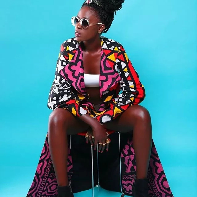 Kenya artistes disappoint Akothee at her grandmother's funeral