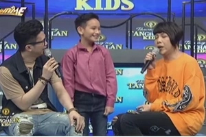 Vice Ganda mocks Kris Aquino while interviewing Bimby's look-alike contestant on 'Tawag ng Tanghalan Kids!' Watch it here!