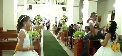 Bloodbath! Gunman follows bride down aisle, OPENS FIRE on guests in church shooting (photos, video)
