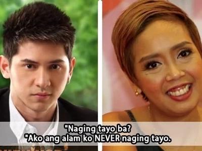"""Ako ang alam ko never naging tayo."" Aaron Villena to Cacai Bautista"