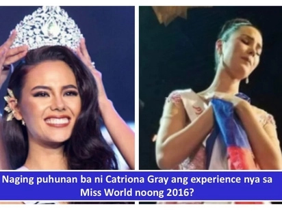 Llamado dahil sa Miss World experience? Catriona Gray shares tips that helped her bag the Miss Universe crown