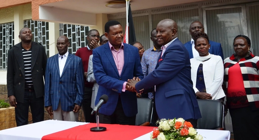 Nyeri Governor forced to make clear his preferred choice for 2022 between Ruto and Mutua