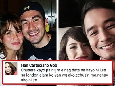 'Wag kayo echusera!' JM De Guzman's mother reveals Jessy and Luis were already dating even though she and JM were still together!
