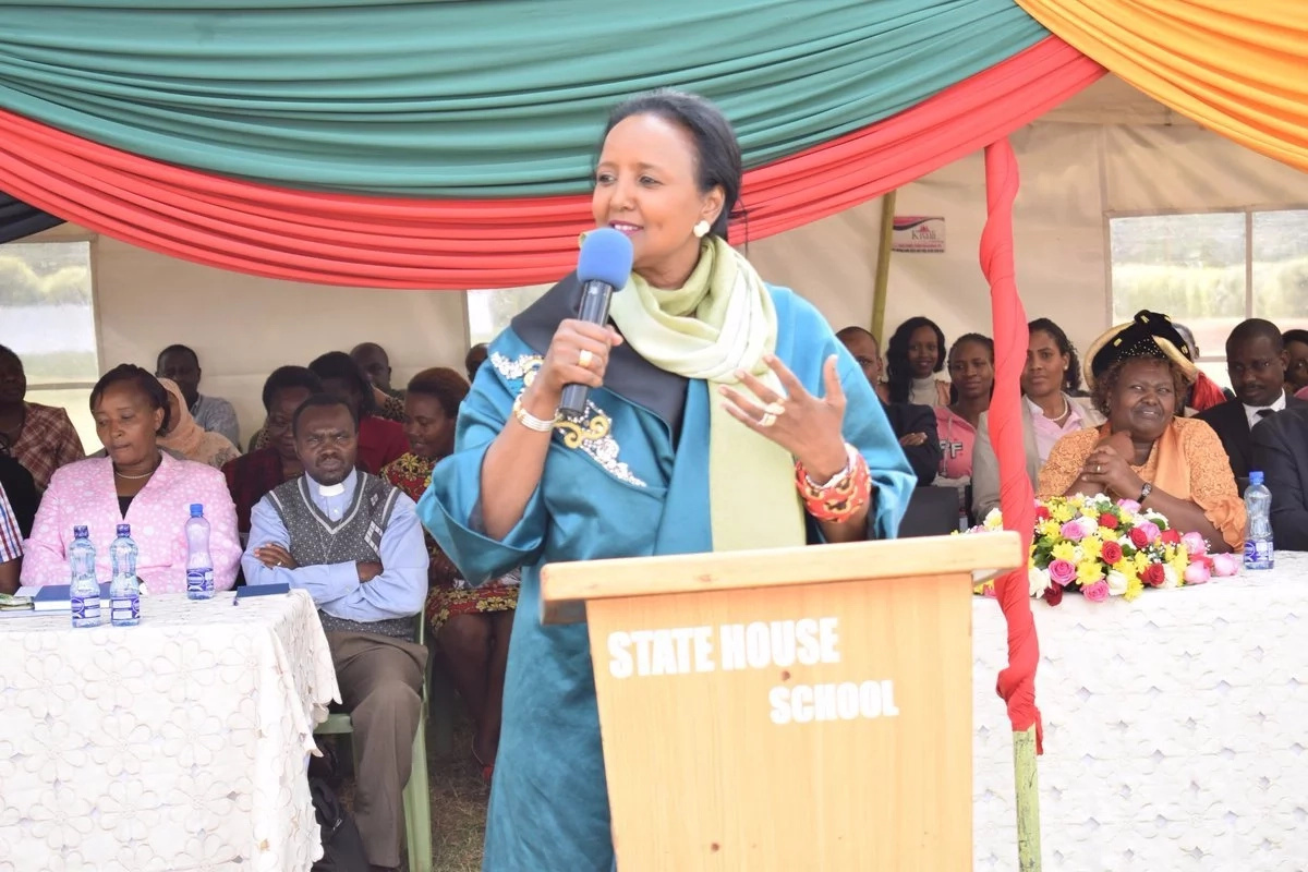 CS Amina Mohammed must be regretting after her tweet about Uhuru