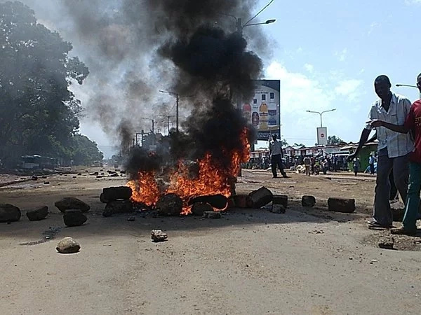 The photos that tell CORD's protesst in Kisumu