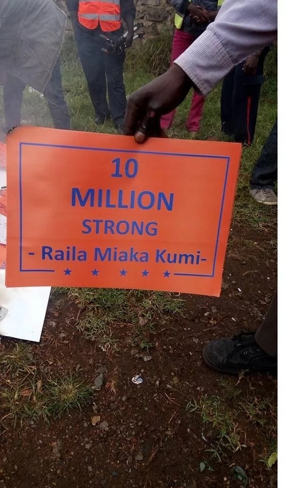 Kisumu youth demonstrate over Raila's one term in power deal if elected president