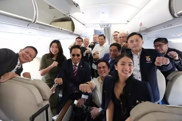 Heart Evangelista goes to Vietnam with Duterte and his delegation
