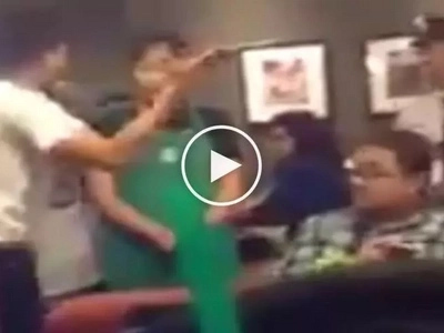 Kalma lang tol! Angry Pinoy humiliates female Starbucks employee in front of other customers