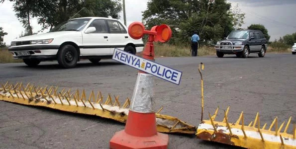 Limuru resident steal meat while driver bleeds in car