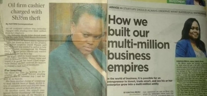 Woman accused of stealing KSh 35 millions mocked after sharing entrepreneurship advice
