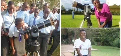 Travelling telescope! Meet inspiring lady who encourages children to study stars and planets in Kenya (photos, video)